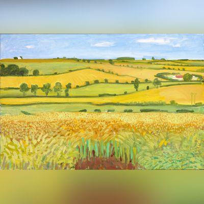 David Hockney, Woldgate Vista