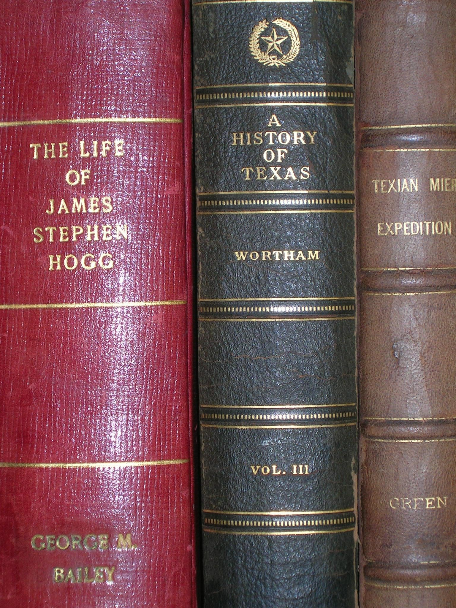Hogg Family Books Close up