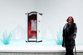 HOME blog post: Amalia Mesa-Bains portrait with Transparent Migration