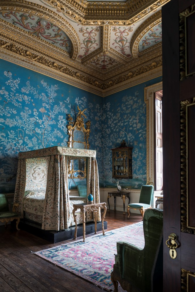 English Country Family Room: Houghton Hall: Portrait Of An English Country House
