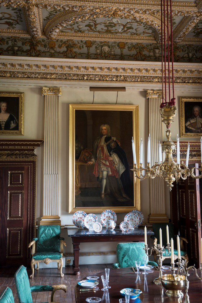 houghton hall marble parlour
