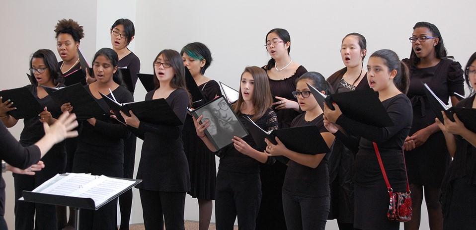 Houston Girls Choir - singing