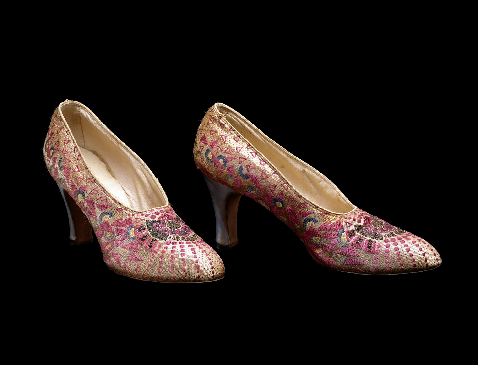 I. Miller Shoe Company, for I. Magnin, Pair of Evening Shoes