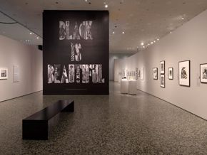 Icons of Style (installation shot) Black Is Beautiful
