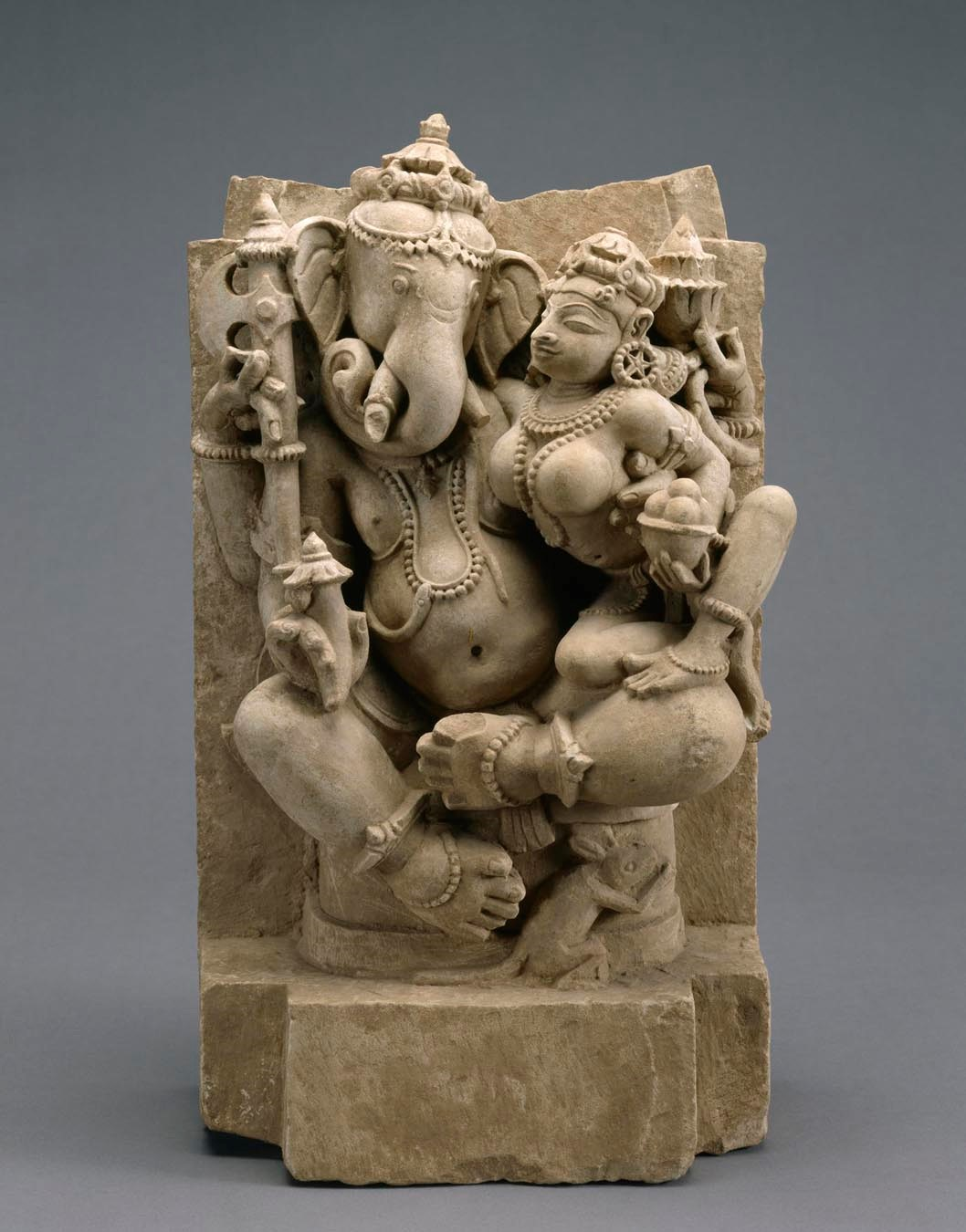 Indian Ganesh and Siddhi