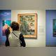 Installation view | Hockney – Van Gogh: The Joy of Nature