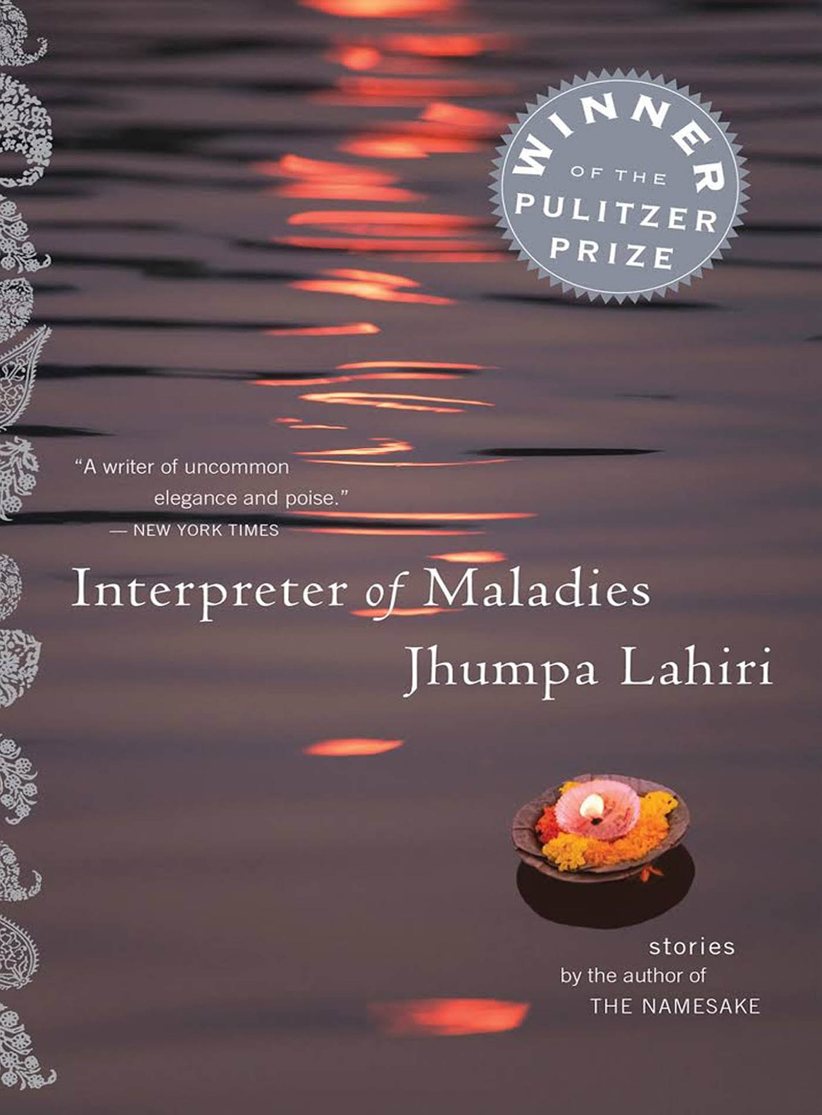 Interpreter of Maladies - Jhumpa Lahiri / MFAH Book Club cover