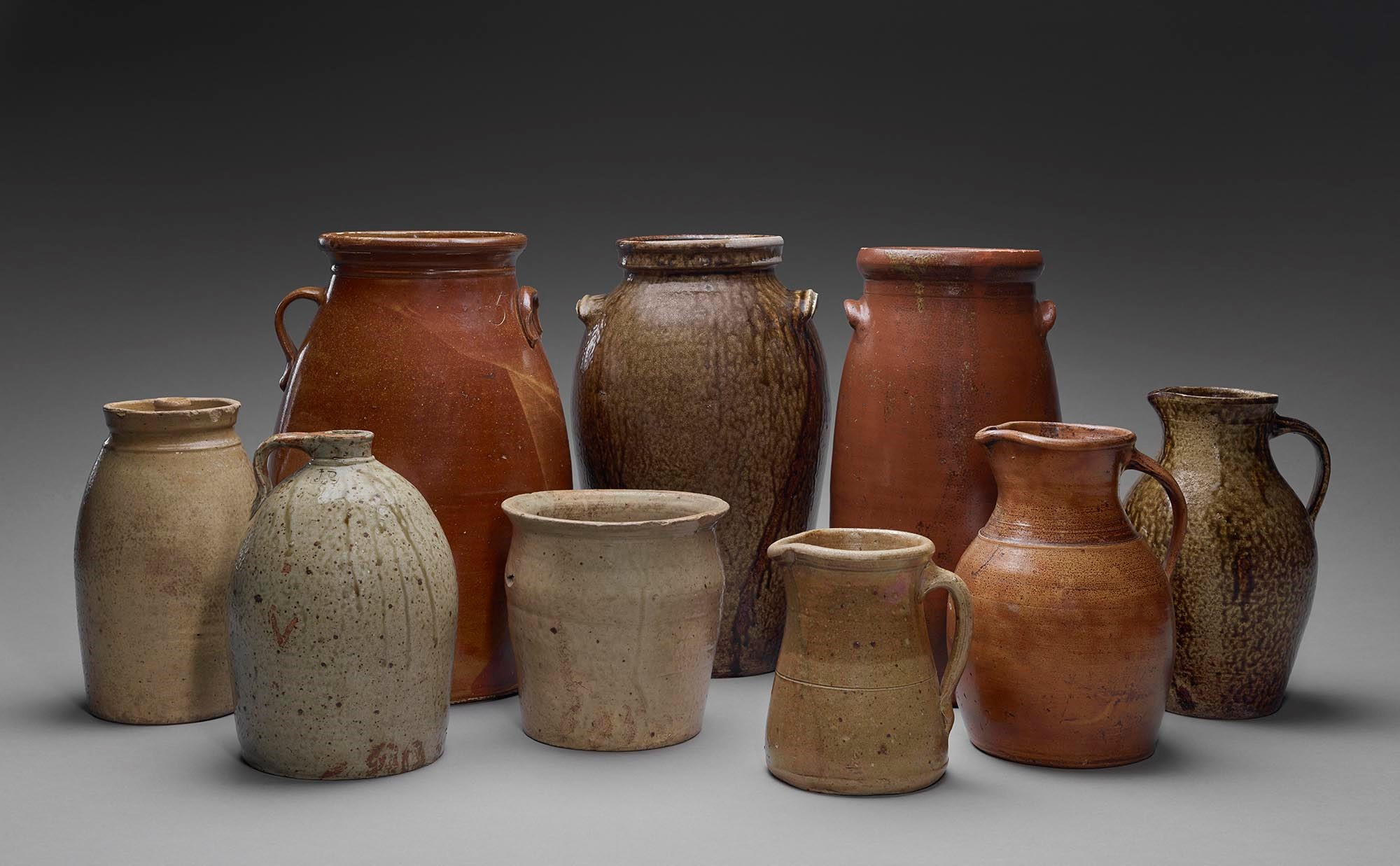 Jugs, Jars, Churns, and Pitchers