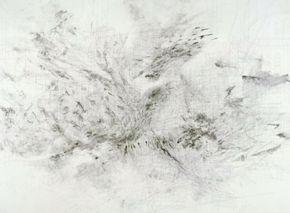 Julie Mehretu, Fragment, 2009, ink and acrylic on canvas