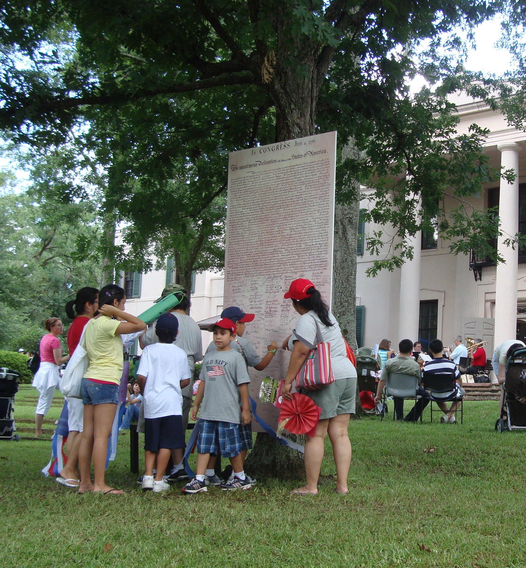 July 4 at Bayou Bend
