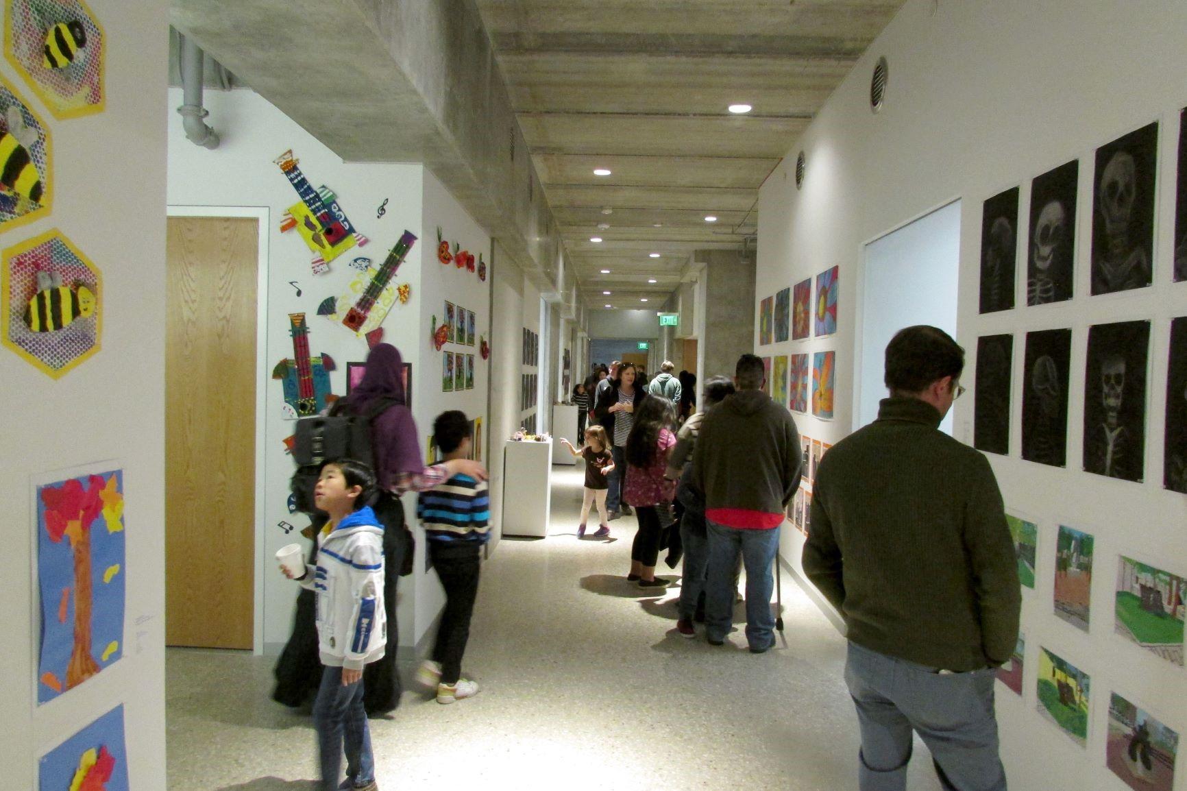 Junior School exhibition space