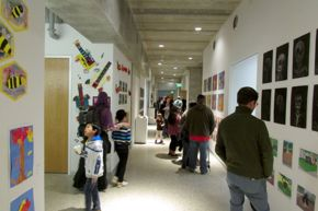 Junior School exhibition space
