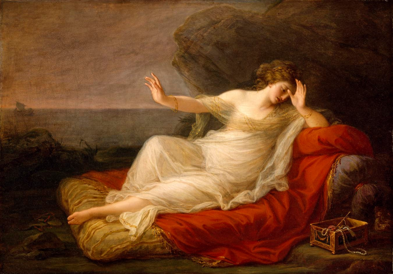 Kauffmann - Ariadne Abandoned by Theseus