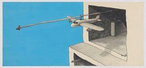 Kenji Nakahashi - Untitled Airplane Suspended