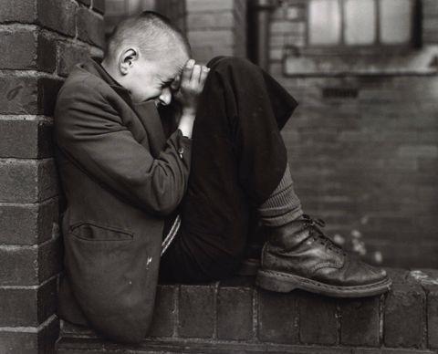 Killip- Youth on Wall, Jarrow, Tyneside, UK