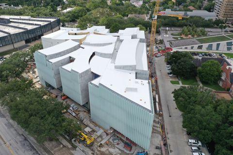 Kinder Building | aerial view