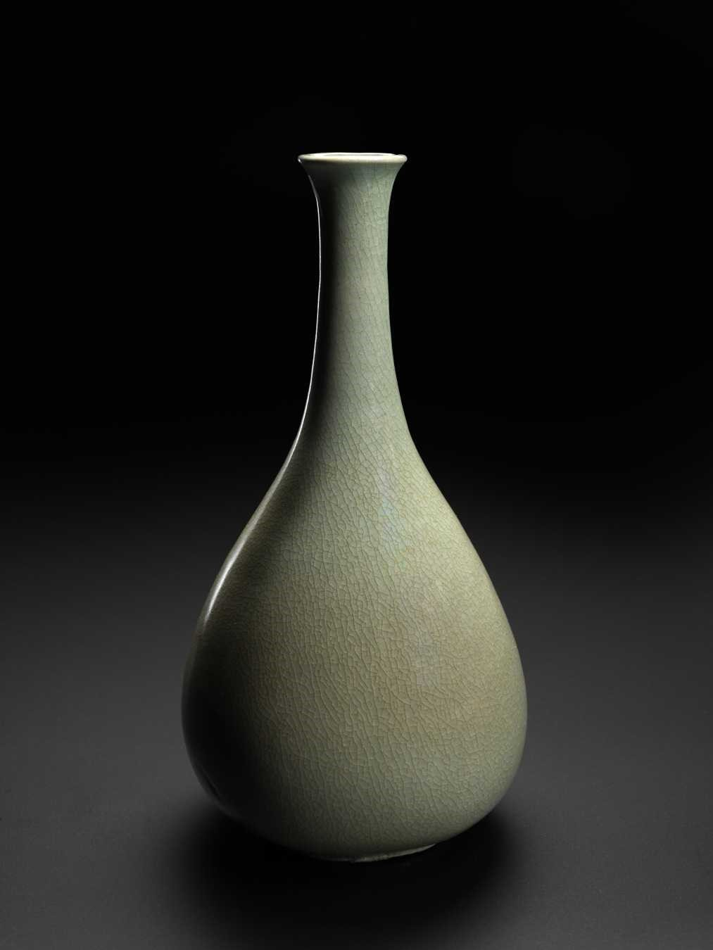 Korean Celadon Bottle