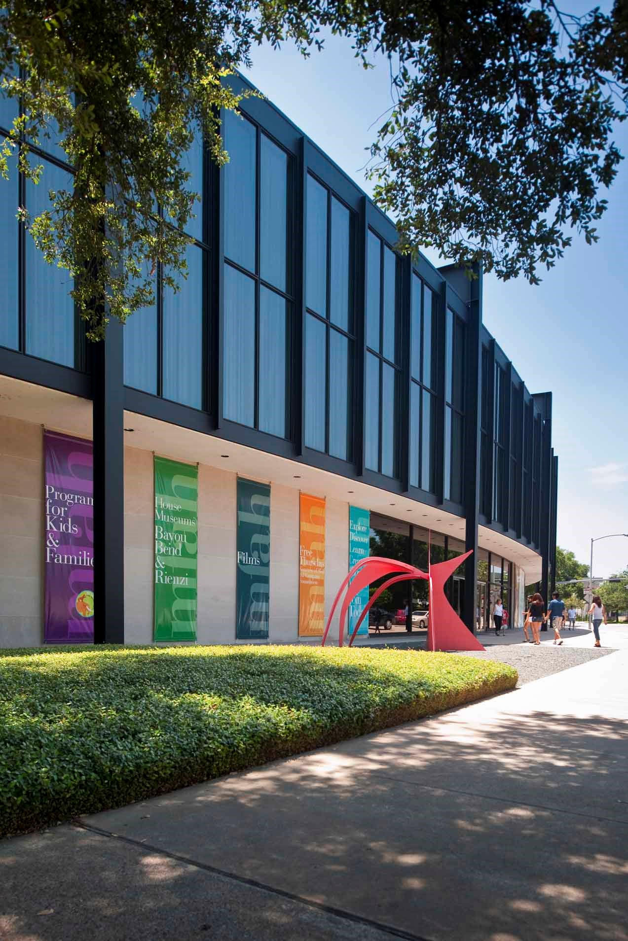 Visiting The MFAH For FREE The Museum Of Fine Arts Houston - Museums on us bank of america list