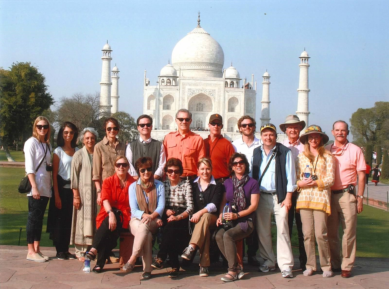 Leadership Circle group at Taj Mahal