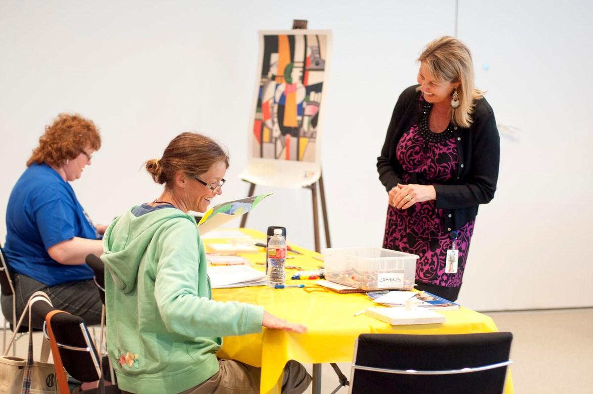 Learning Through Art at the MFAH Teacher Workshop