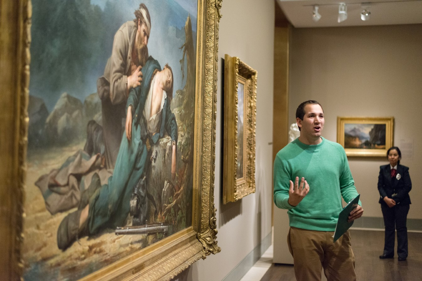 lta learning through art teacher workshop - american art