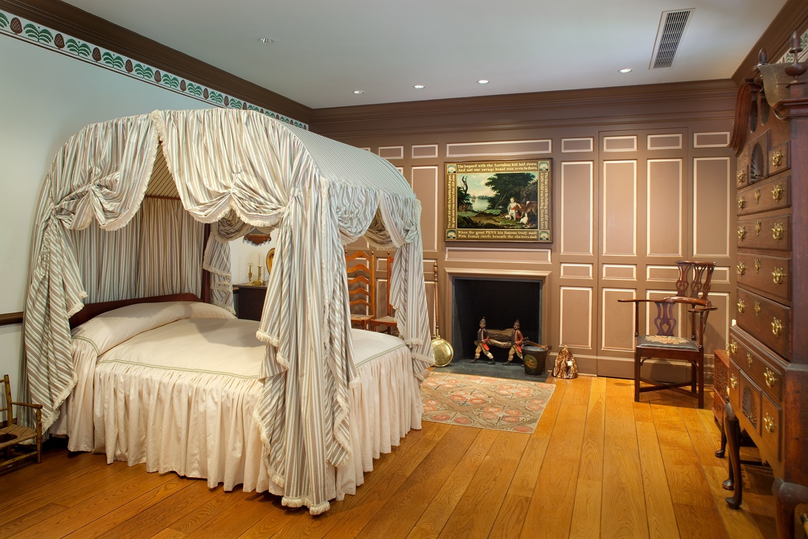 Maple Bedroom at Bayou Bend 2019