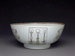 Masonic Punch Bowl