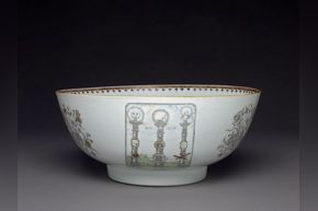 Masonic Punch Bowl