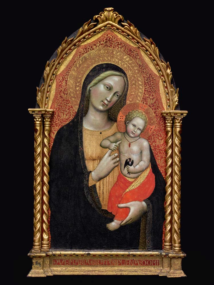 Master of the Straus Madonna - Virgin and Child