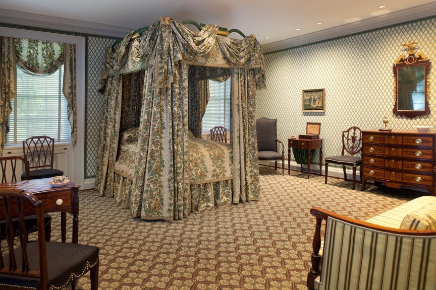 McIntire Bedroom at Bayou Bend 2019