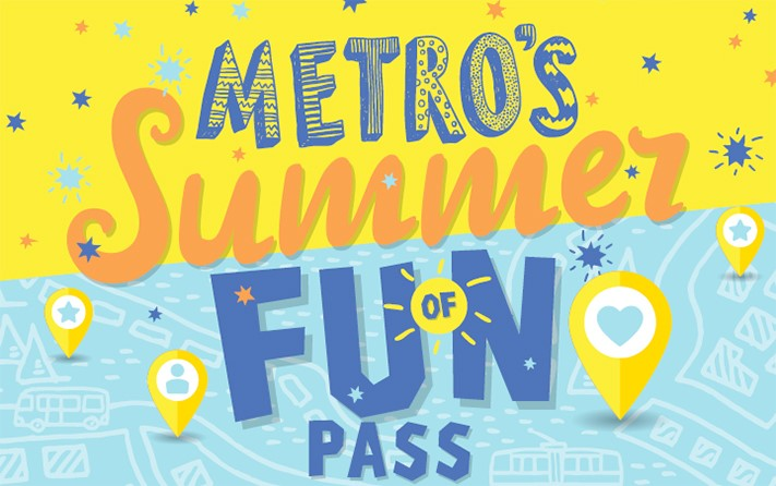 METRO Summer of Fun Pass (2018)