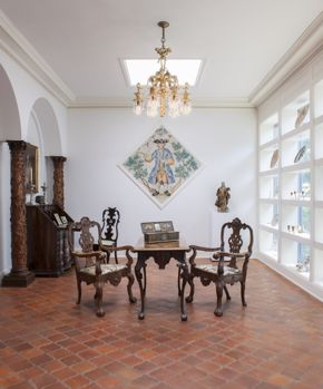 The Mexican Room at Rienzi