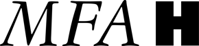 MFAH black logo