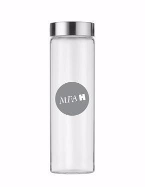 MFAH Glass Water Bottle