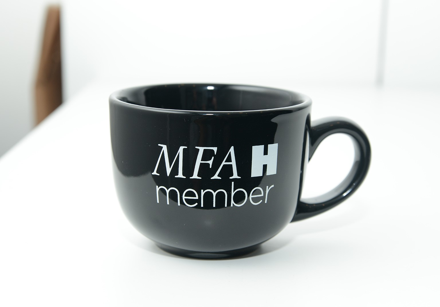 mfah members mug