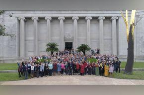 MFAH staff on South Lawn 2018