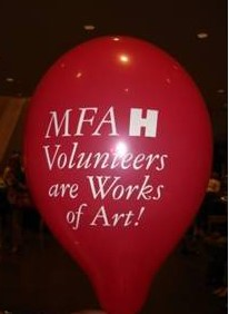 MFAH Volunteers Are Works of Art!