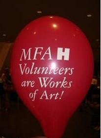 MFAH Volunteers Are Works of Art!