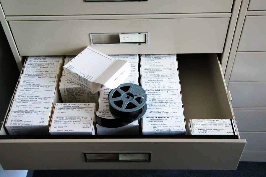 microfilm reel
