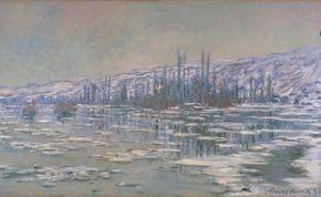 Monet - The Breakup of the Ice