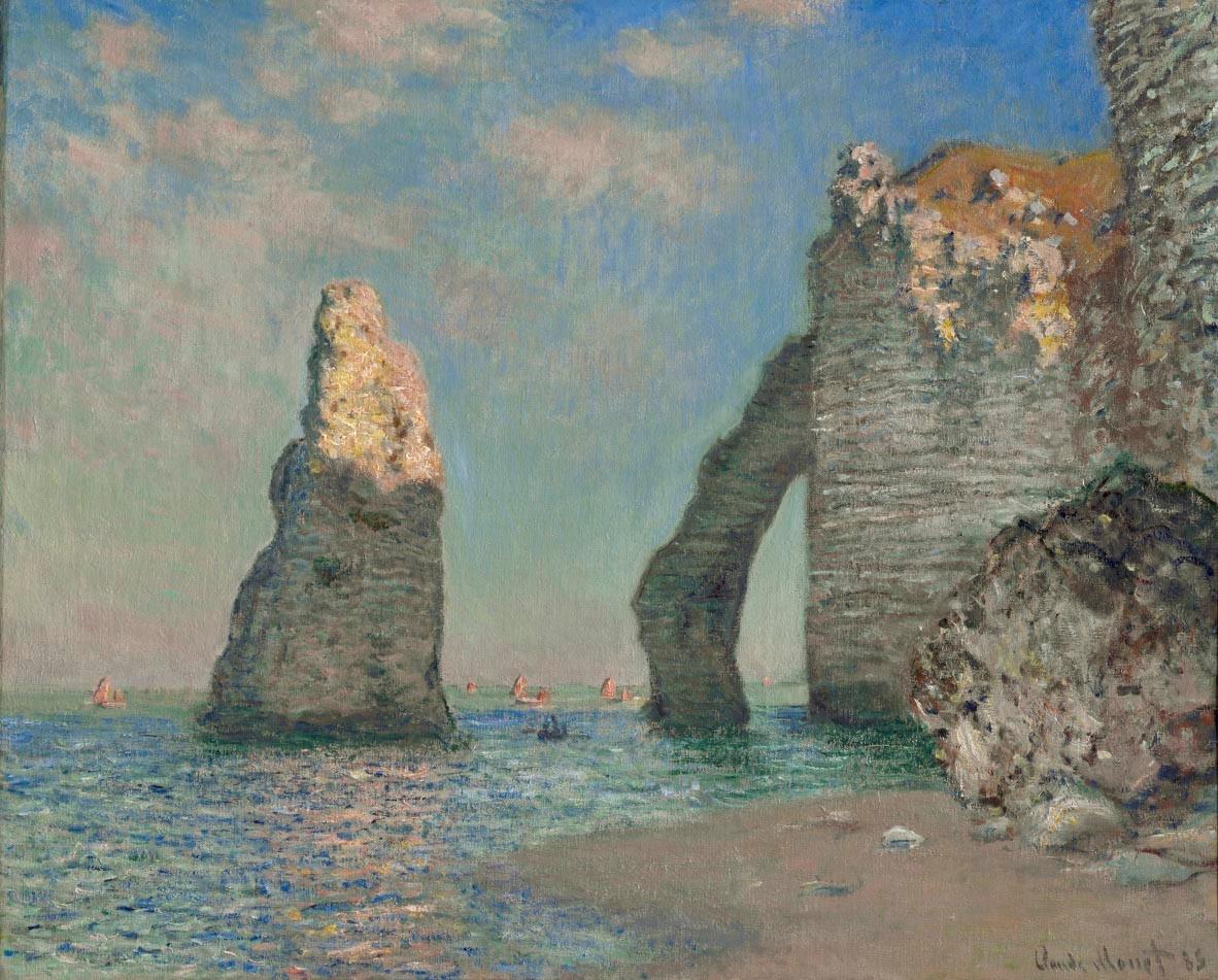 Monet- The Cliffs at Etretat