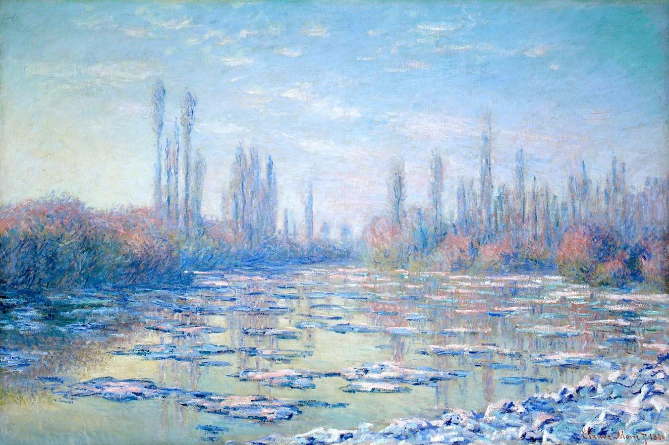 Monet | The Ice Floes (Les Glaçons)