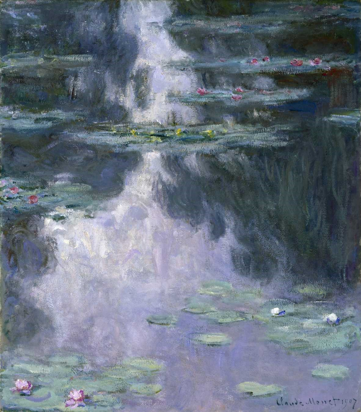 Claude Monet, Water Lilies (Nymphéas), 1907