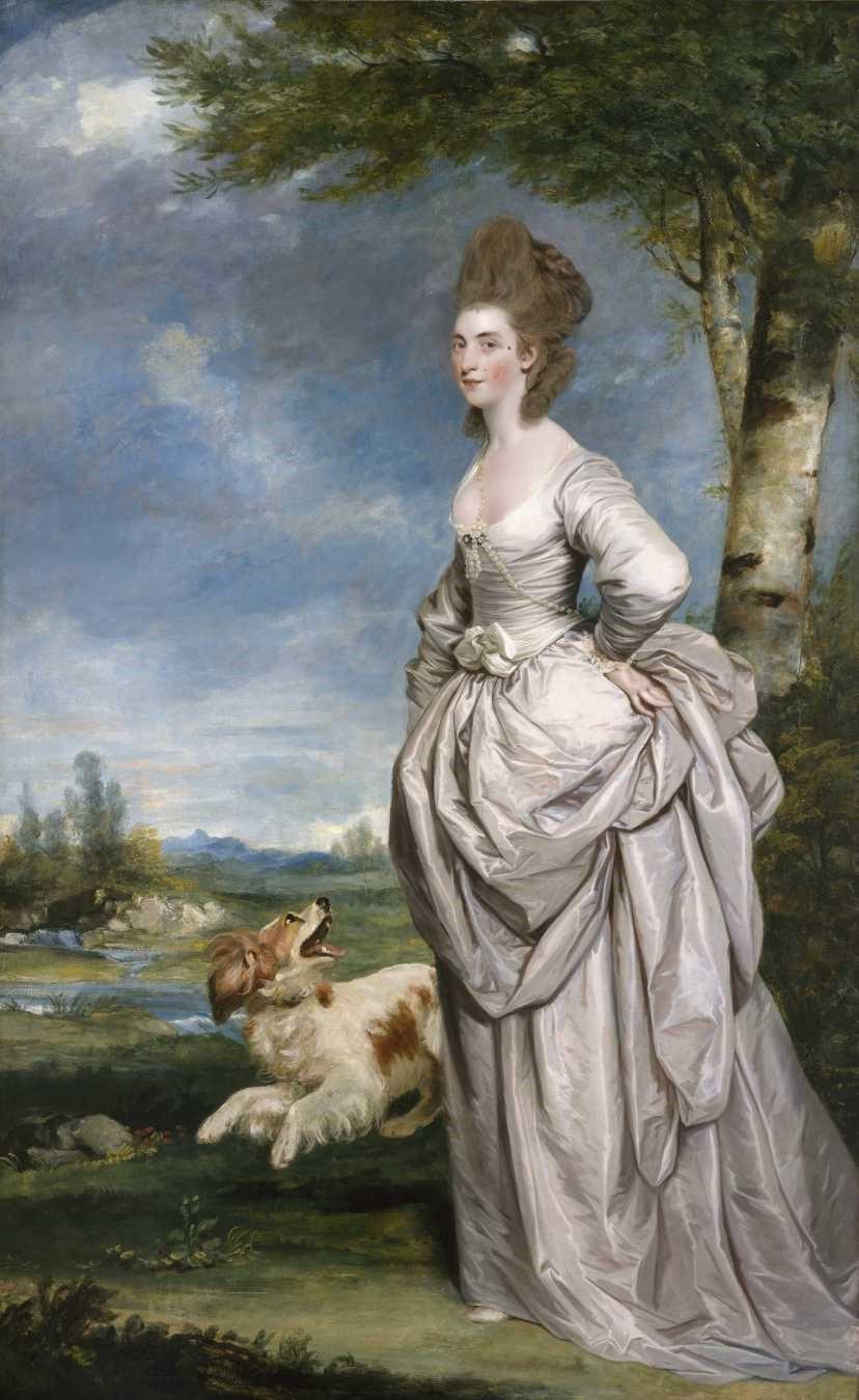 Sir Joshua Reynolds, Mrs. Elisha Mathew, 1777