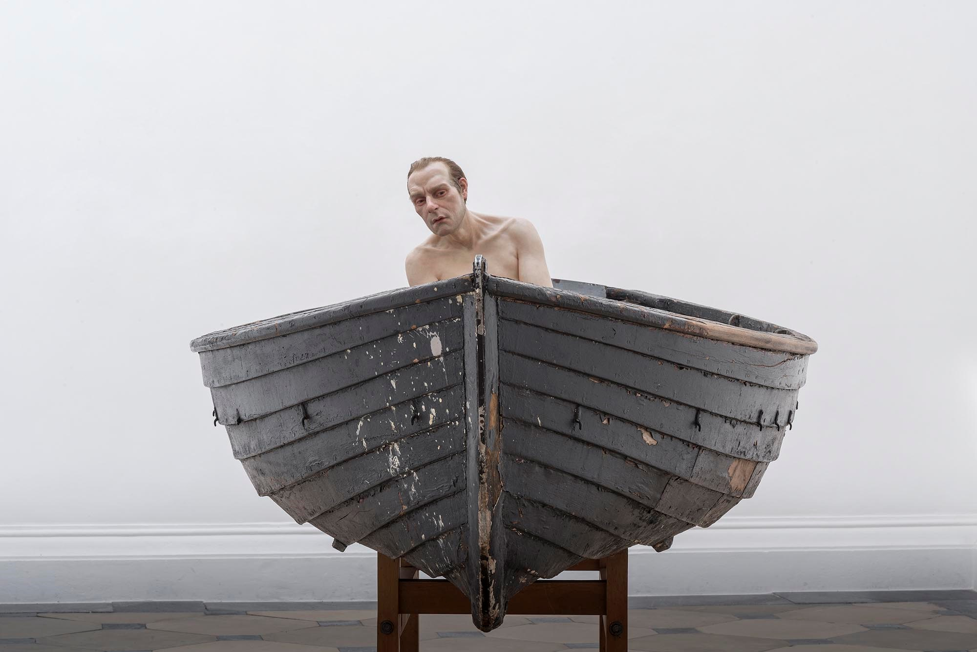 Mueck - Man in a Boat