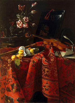 Munari - Still Life with Musical Instruments