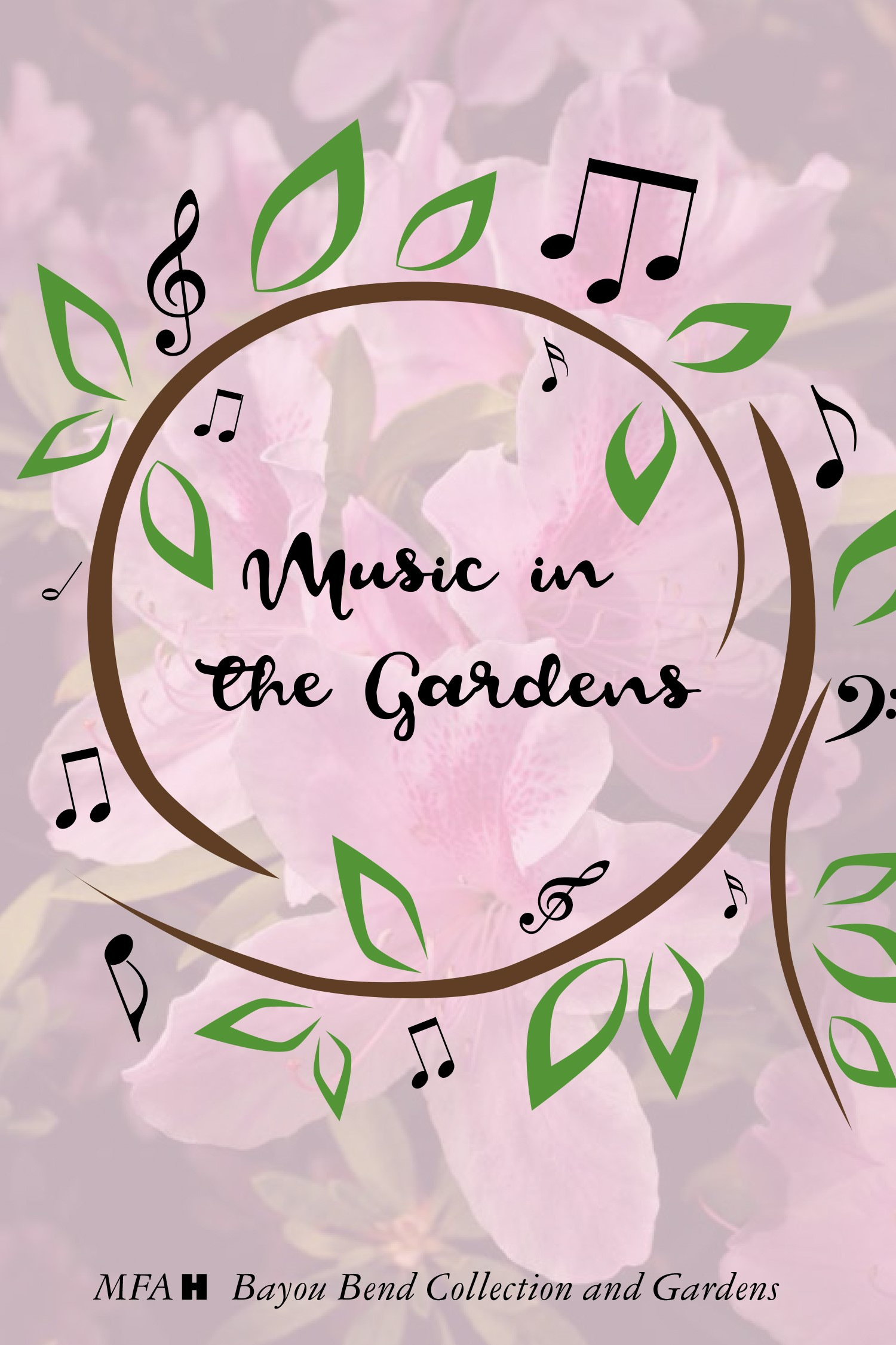 Music Audio Tour cover - Bayou Bend gardens