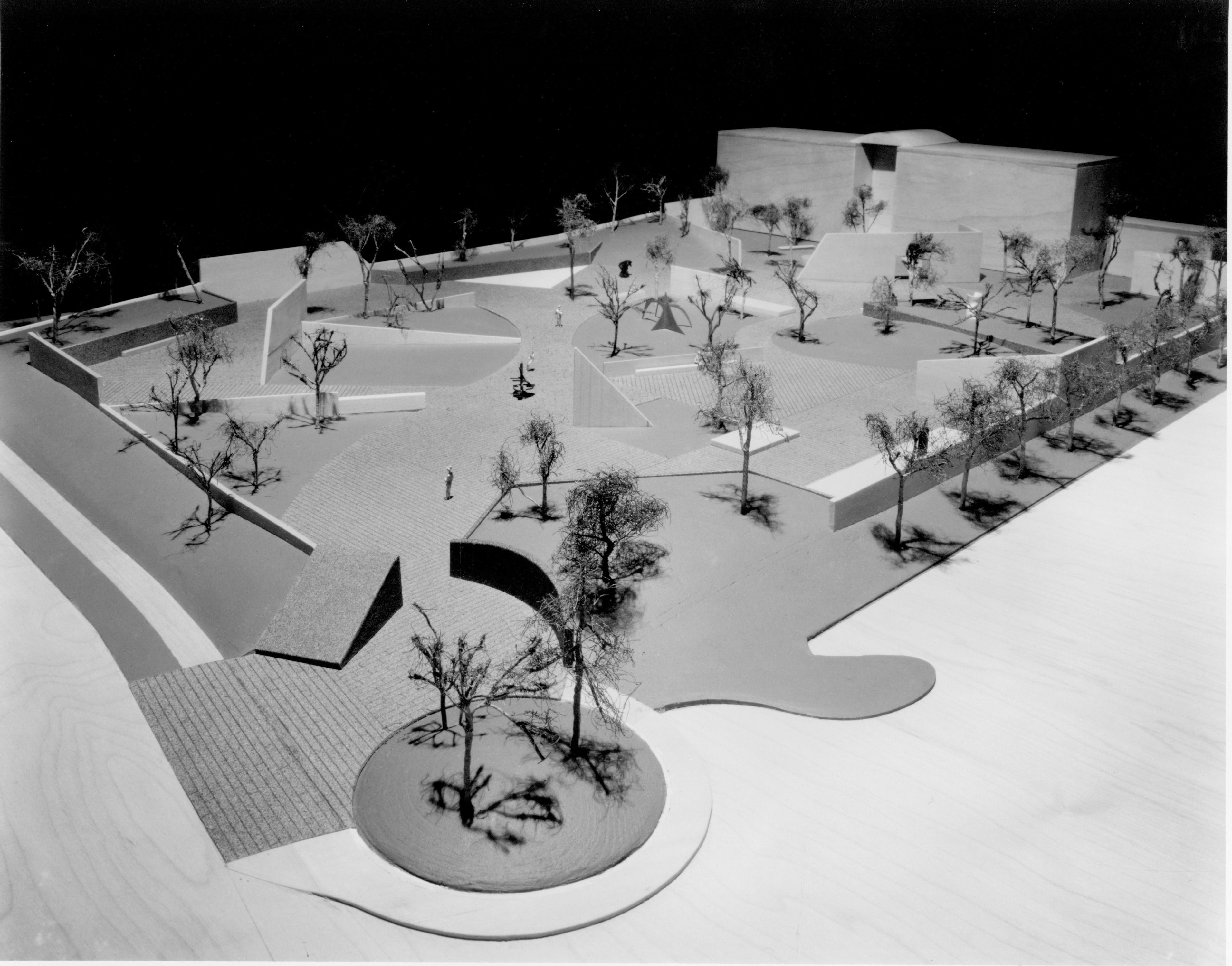 A Chronology of Cullen Sculpture Garden   The Museum of Fine Arts ... for Isamu Noguchi Sculpture Garden  110zmd