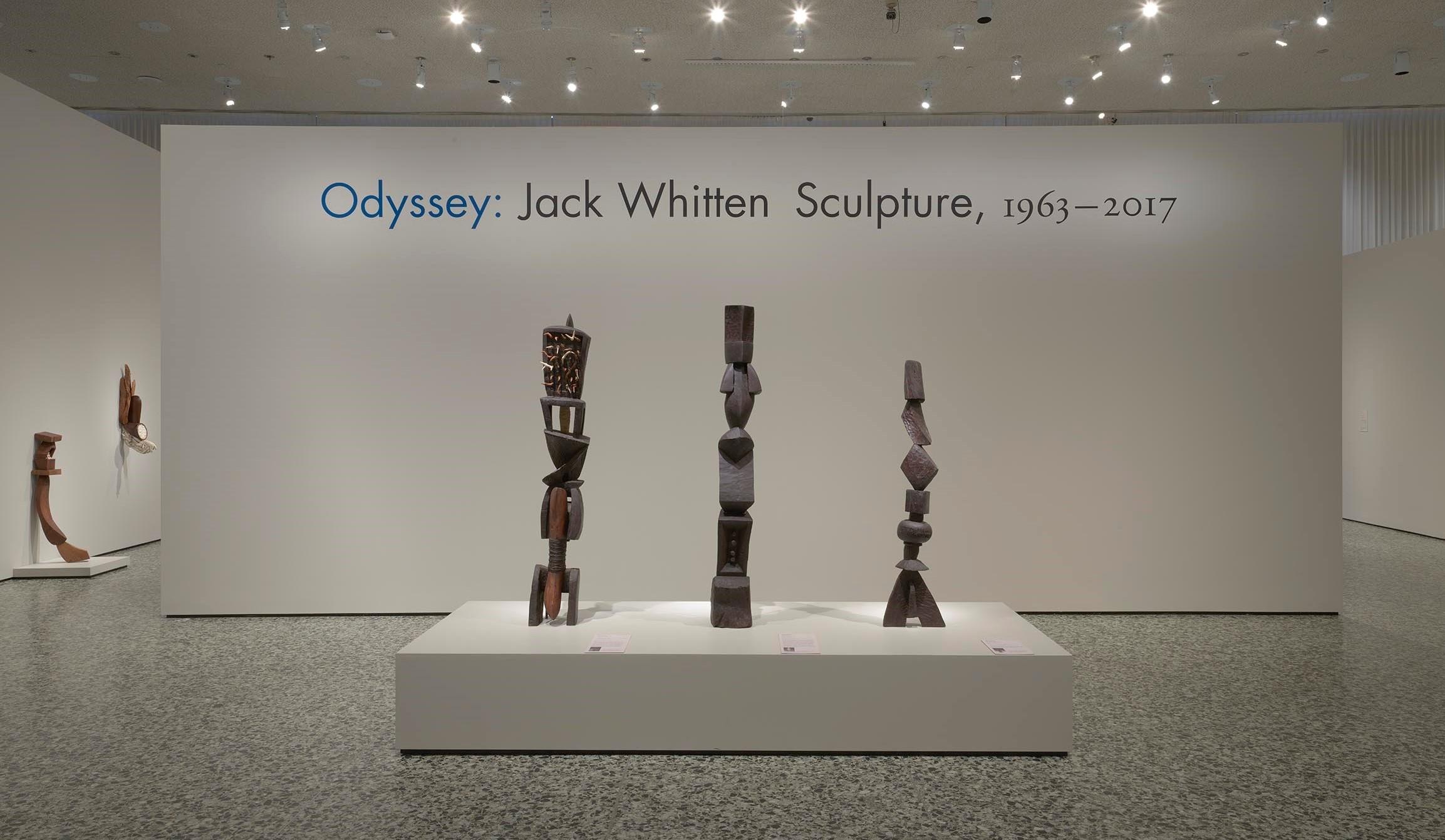 Odyssey: Jack Whitten (installation shot)