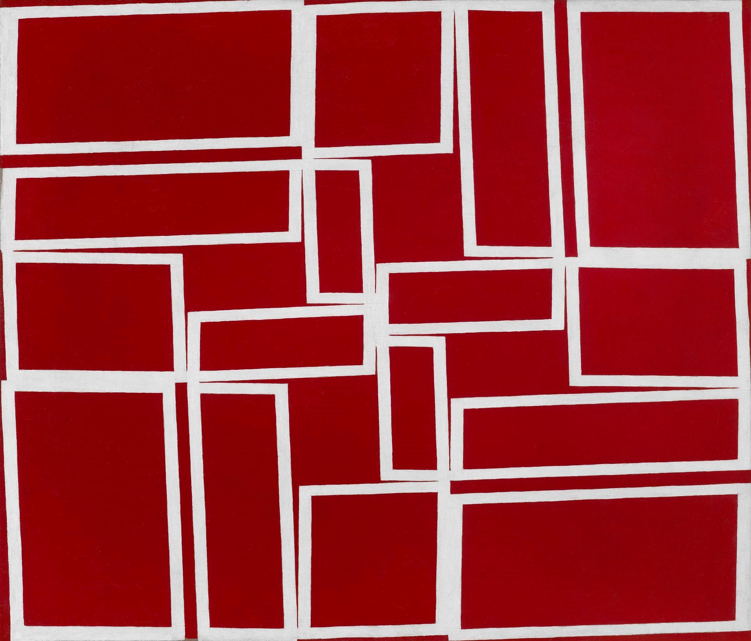 Oiticica - Vermelho cortando o branco